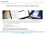 How Can I Get Rid of ATT Email Login Issue?