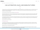 CAD Automation, Sales, and Manufacturing