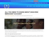 Benefits of High Risk Merchant Account