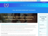 Benefits of Call Blocking Merchant Accounts