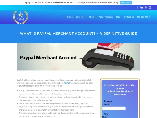 PayPal Merchant Account – One Solution For All Your Online Payments