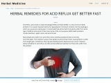 Herbal Remedies For Acid Reflux – Best Herbal Products In Pakistan