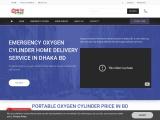Oxygen cylinder home delivery.