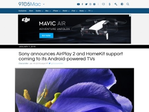 Sony announces AirPlay 2 and HomeKit support coming to its Android-powered TVs - 9to5Mac