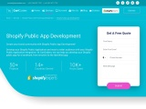 Best Shopify Public App Development Services – CartCoders