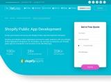 Top Shopify Public App Development Services – CartCoders