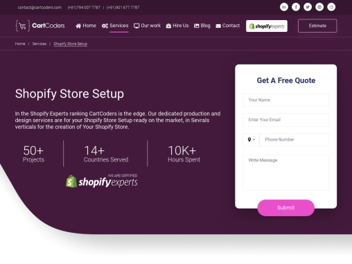 Best Shopify Store Setup Experts and Service Provider