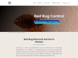 Bed Bug Control Company in Ottawa | Bed Bug Removal Treatment in Ottawa