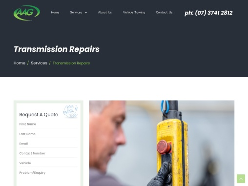 Transmission Repairs- AAG Automotive