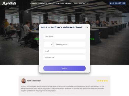 Aahan Technologies   Live streaming app development