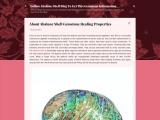 About Abalone Shell Gemstone Healing Properties