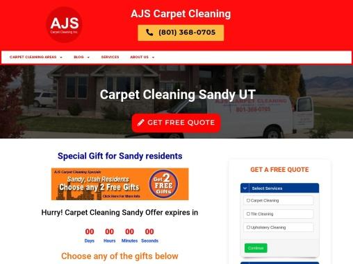 AJS Carpet Cleaning in Sandy UT