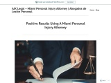 Positive Results Using A Miami Personal Injury Attorney