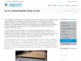 Top Traders of 12-14% manganese Steel Plate Vandan Steel