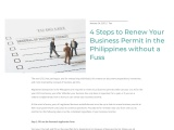 4 Steps to Renew Your Business Permit in the Philippines without a Fuss