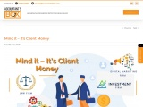 Client Money Handling Rules | How to handle your client's money