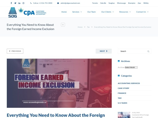 Everything You Need to Know About the Foreign Earned Income Exclusion