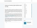 Outsource Insolvency Administration Work To India
