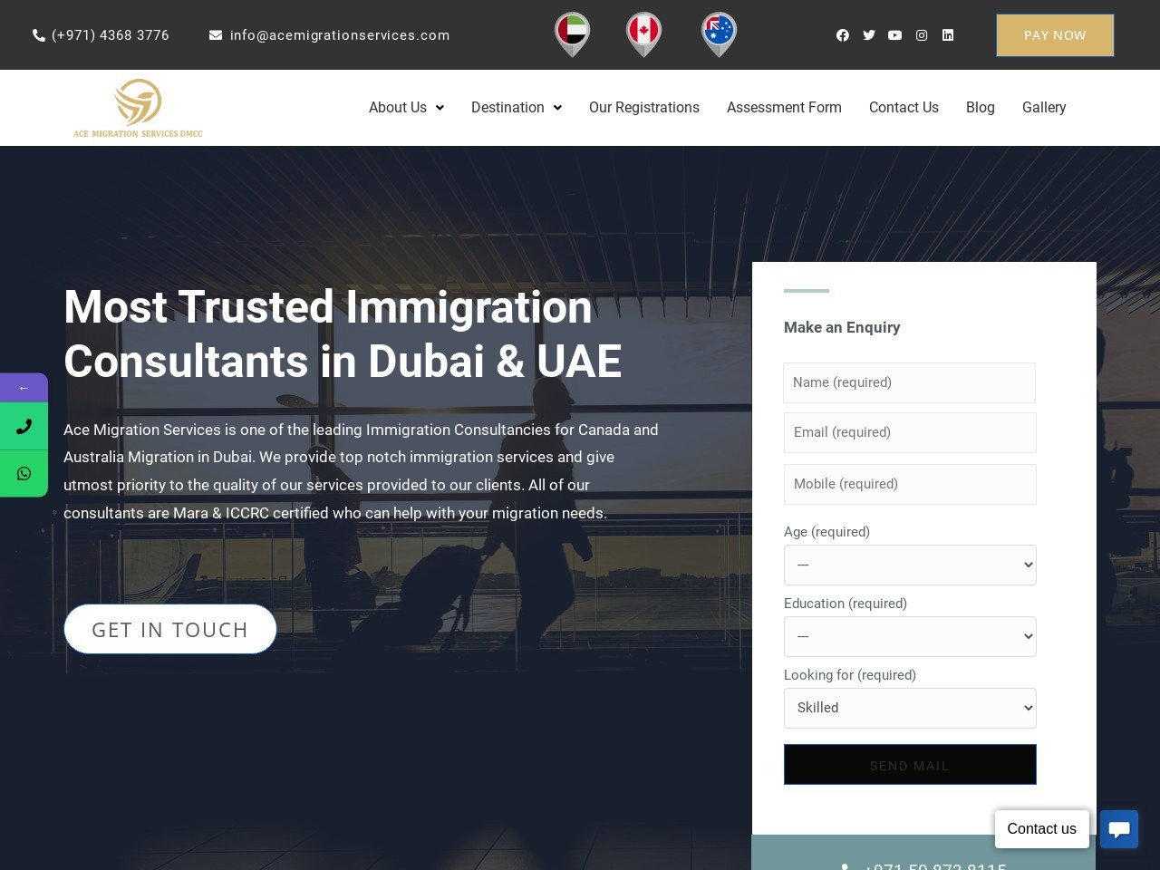 Canadian Consultancy Services in Dubai,