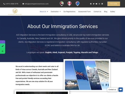 Top Immigration Consultants Services in UAE