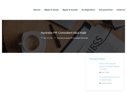 Ace Migration Services Best Australia PR Consultant in UAE