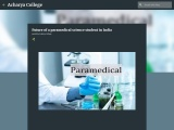 Future of a paramedical science student in India