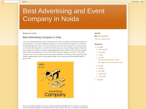 Best Advertising Company in India