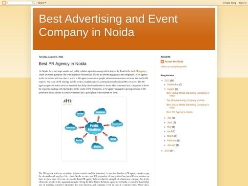 Best PR Agency in Noida – Across the Road