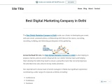 Best Digital Marketing Company in Delhi – Across the Road Advertising and Events Pvt ltd