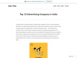Top 10 Advertising Company in India – Across the Road