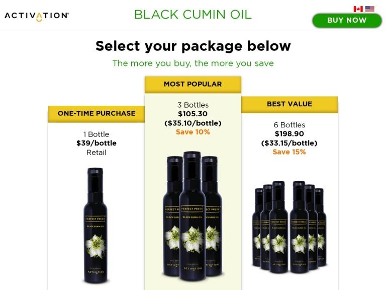 Perfect Press Black Cumin Oil screenshot