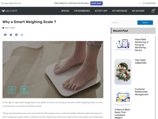 Why should this product replace your old school weighing scale?