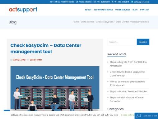 Check EasyDcim – Data Center management tool