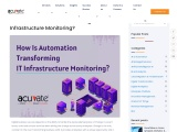 How is automation transforming IT Infrastructure Monitoring