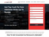 car body removal Adelaide | adcash4cars