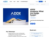 hedge fund investors, ADDX , private equity