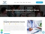 Hospital Administration Course