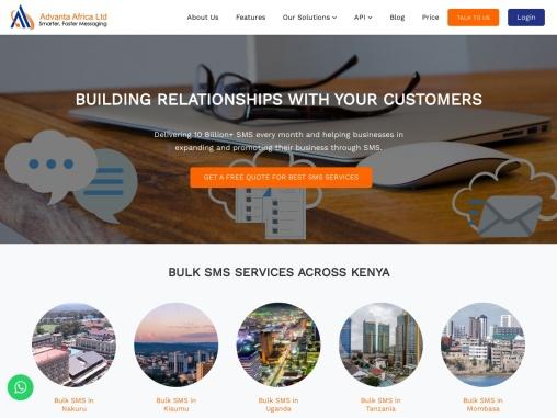 Bulk SMS Kenya | Cheap Bulk SMS Service Provider | Send SMS – Advanta
