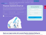 Best Physician Assistants Email List  | Physician Assistants mailing list | AdvigData