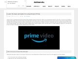 read some features, description of amazon prime