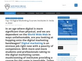 Top 1O Digital Marketing Courses In India