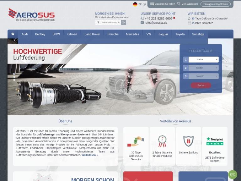 Aerosus DE screenshot