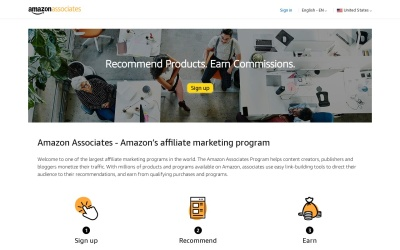 Amazon Website Preview