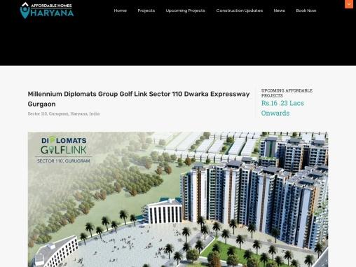 Millennium Diplomats Group Golf Link Sector 110 Dwarka Expressway Gurgaon