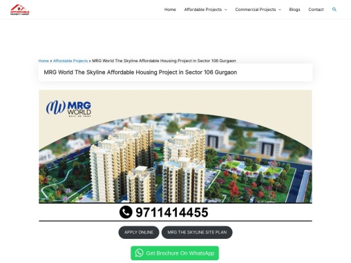 MRG World the Skyline 106 Gurgaon