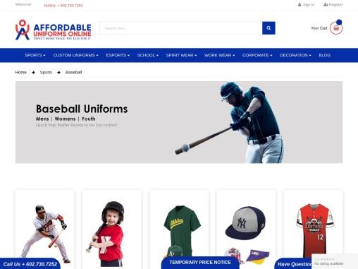 Custom Baseball Jerseys| Baseball Uniforms
