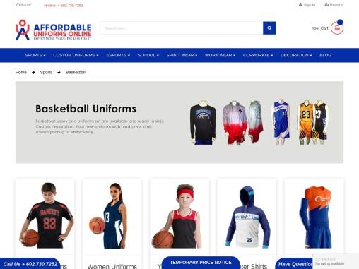 Cheap Basketball Jerseys and Uniforms