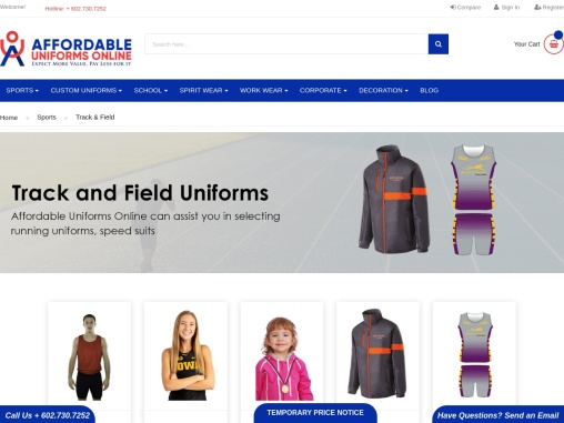 Track Uniforms | Track and Field Uniforms
