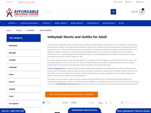 Volleyball Outfits | Volleyball Shorts