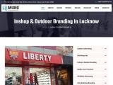 Inshop & Outdoor Branding| Afluex